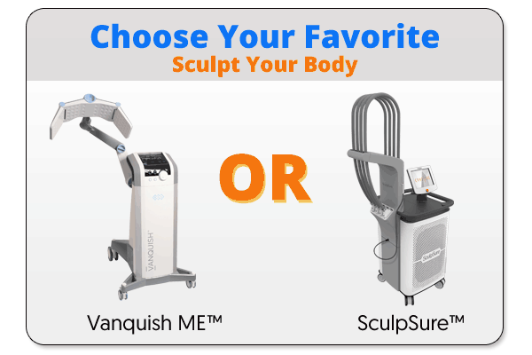 Win Free Vanquish or SculpSure treatment in Wellington Graphic