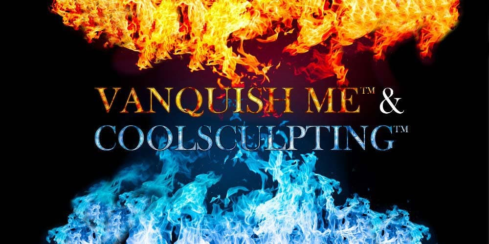 Fire and ice coolsculpting bannner